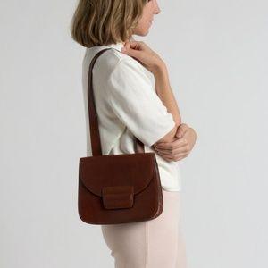 90s Perry Ellis leather purse bag